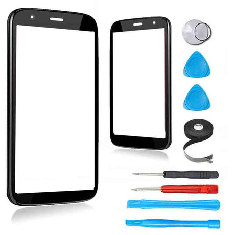 Motorola Moto X (First Generation) Glass Screen Replacement Premium Repair Kit - Black - PhoneRemedies