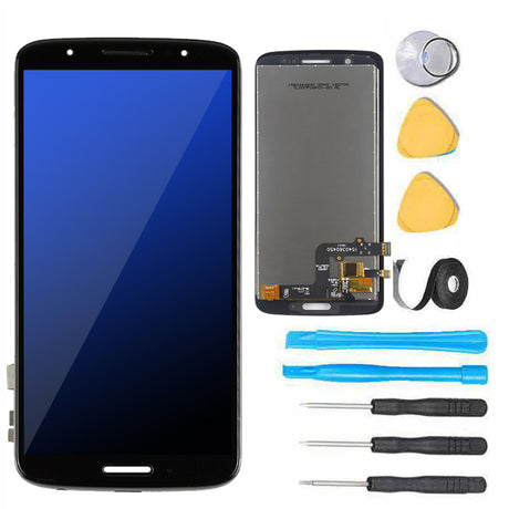 moto-g6-screen-replacement-black-with tools