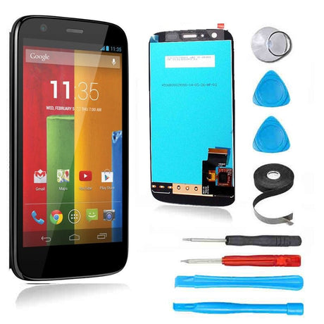 Moto G (1st Gen) LCD Screen Replacement and Digitizer Premium Repair Kit  - Black - PhoneRemedies