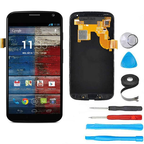 Moto X (1st Gen) LCD Screen Replacement and Digitizer Premium Repair Kit  - Black - PhoneRemedies