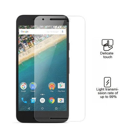 Premium LG Google Nexus 5x tempered Glass Screen Protector - PhoneRemedies