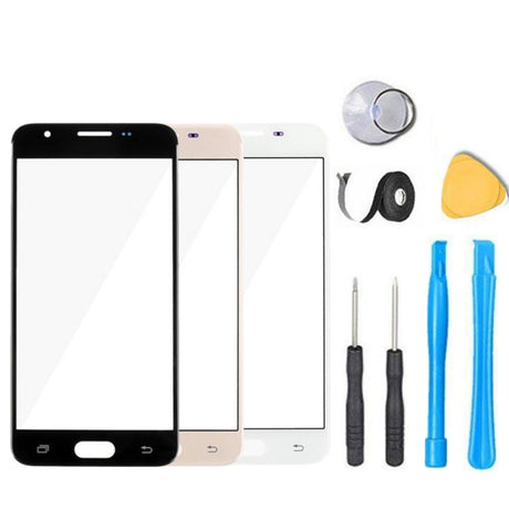 Samsung Galaxy On5 Glass Screen Replacement Premium Repair Kit G5500 G550 G5520 G5700  - Black / White / Gold