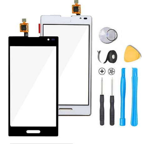 LG Optimus L9 Glass Screen Replacement + Touch Digitizer Replacement Premium Repair Kit - Black or White