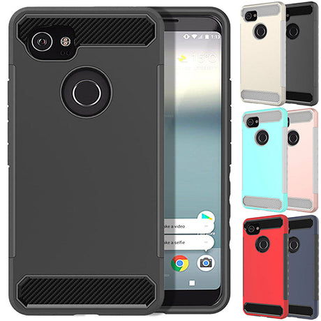 Rugged Armor Hard Case Cover - Google Pixel 2
