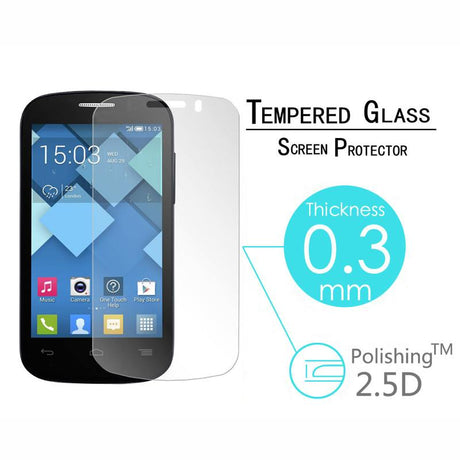 Alcatel One Touch Pop C5 Premium Tempered Screen Protector