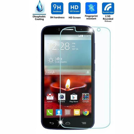 Alcatel One Touch Pop Icon Premium Tempered Screen Protector