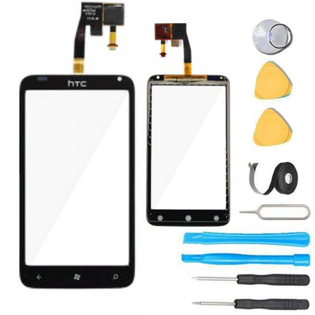 HTC Raider 4G Glass Screen Replacement parts plus tools
