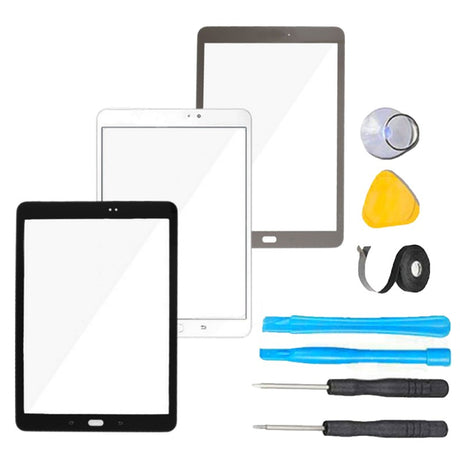 "Samsung Galaxy Tab S2 (9.7"") Glass Screen Replacement parts plus tools"