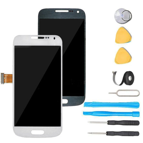 Samsung Galaxy S4 Mini Screen Replacement + LCD + Touch Digitizer Assembly Premium Repair Kit i9195 i9190 SPH-L520 - White or Black