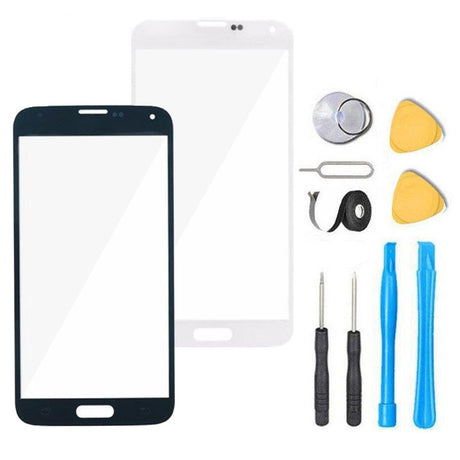 Samsung Galaxy S5 Mini Glass Screen Replacement Premium Repair Kit G800- Black or White