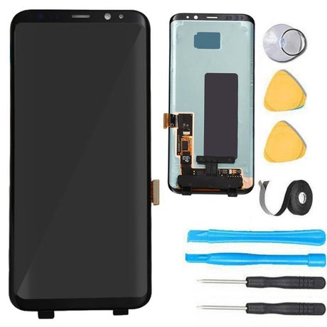 Samsung Galaxy S8 Plus Screen Replacement + LCD + Digitizer Assembly Premium Repair Kit