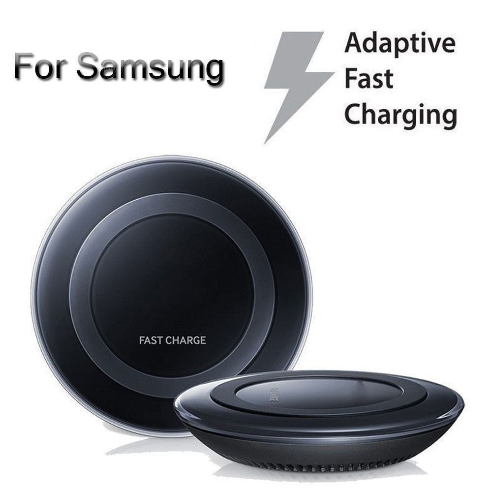 Qi Wireless Quick and Fast Charger Pad for Samsung iPhone and all Qi enabled Devices