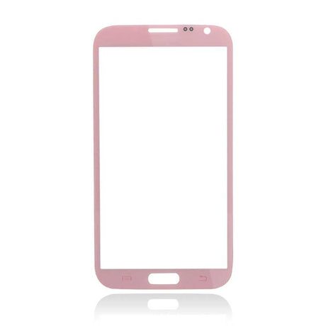Samsung Galaxy Note 2 Glass Screen Replacement - Pink - PhoneRemedies