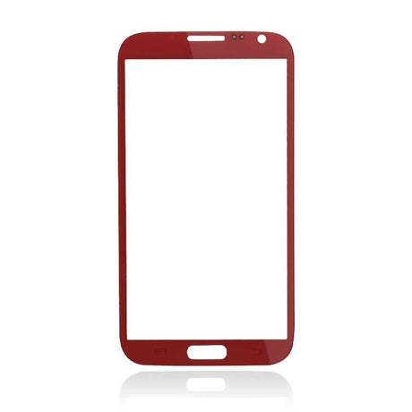 Samsung Galaxy Note 2 Glass Screen Replacement - Red - PhoneRemedies
