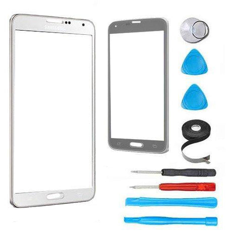 Samsung Galaxy Note 3 Glass Screen Replacement Premium Repair Kit - White