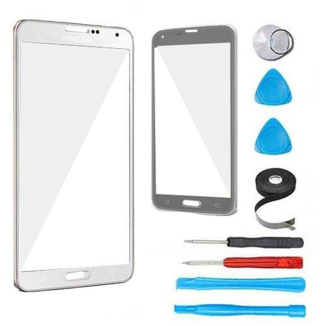 Samsung Galaxy Note 4 N910 Glass Screen Replacement Premium Repair Kit - White