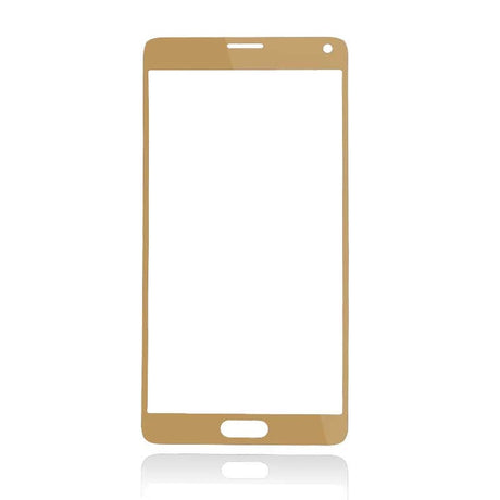 Samsung Galaxy Note 4 Glass Screen Replacement - Gold - PhoneRemedies