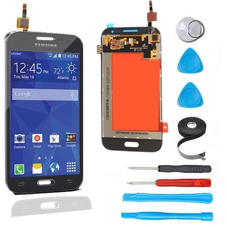 Samsung Galaxy Prevail 4G LCD Screen Replacement and Digitizer Display Premium Repair Kit G360  - Black - PhoneRemedies