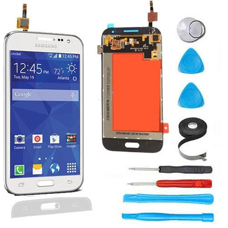 Samsung Galaxy Prevail 4G LCD Screen Replacement and Digitizer Display Premium Repair Kit G360  - White - PhoneRemedies