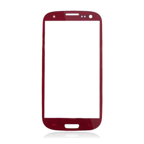 Samsung Galaxy S3 Glass Screen Replacement - Red - PhoneRemedies
