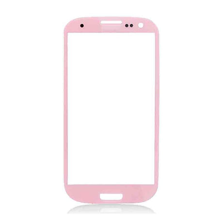 Samsung Galaxy S3 Glass Screen Replacement - Pink - PhoneRemedies