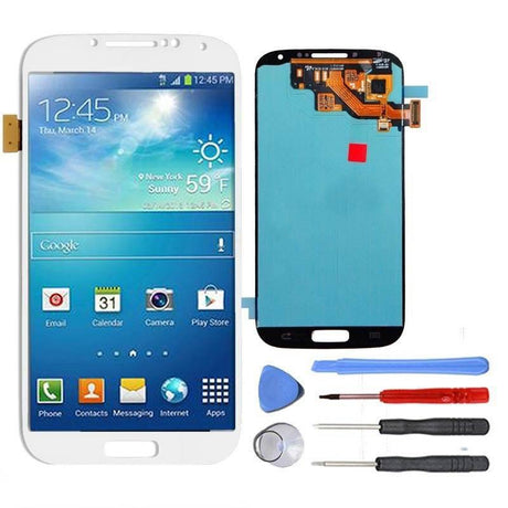 Samsung Galaxy S4 LCD Screen and Digitizer Assembly Premium Repair Kit - White