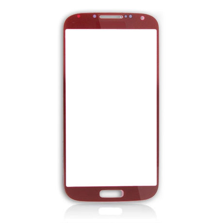 Samsung Galaxy S4 Glass Screen Replacement - Red - PhoneRemedies