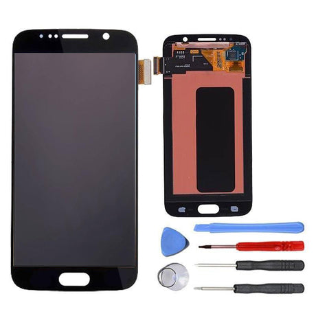 Samsung Galaxy S6 Screen Replacement LCD Digitizer Assembly Premium Repair Kit  G920- Black