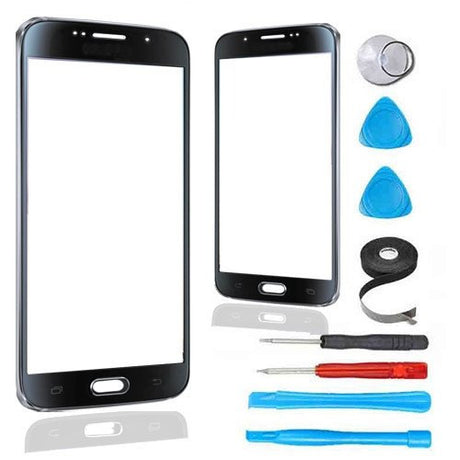 Samsung Galaxy S6 Glass Screen Replacement Premium Repair Kit - Black - PhoneRemedies
