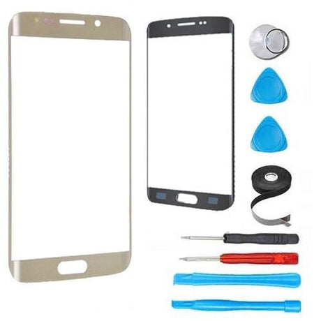 Samsung Galaxy S6 Edge Plus Glass Screen Replacement Premium Repair Kit - Gold