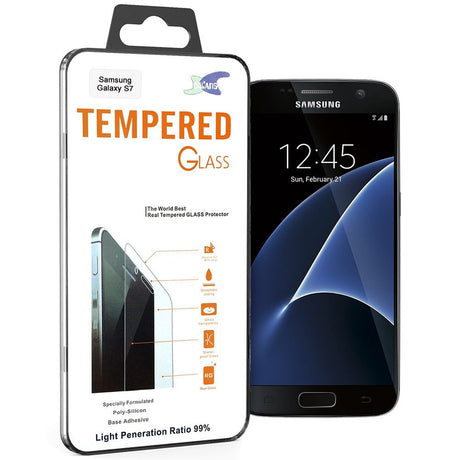 Premium Samsung Galaxy S7 Tempered Glass Screen Protector - PhoneRemedies