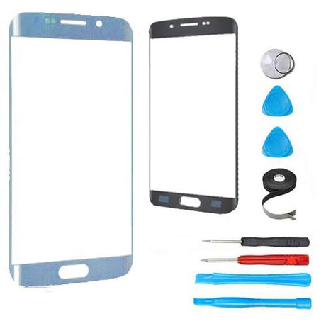 Samsung Galaxy S7 Edge Glass Screen Replacement Premium Repair Kit - Blue