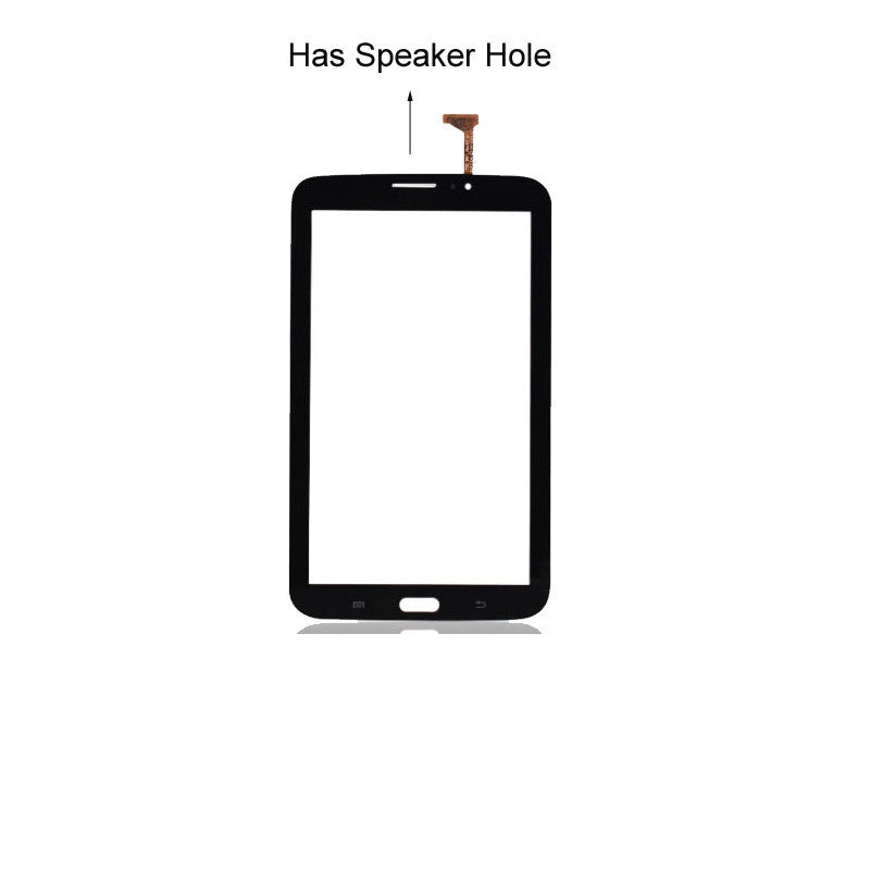 "Samsung Galaxy Tab 3 (7"") Glass Screen and Touch Digitizer Replacement Premium Repair Kit (With Speaker hole) - Black - PhoneRemedies"