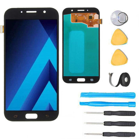 Samsung Galaxy A7 2017 Screen Replacement LCD Premium Repair Kit A720 - Black