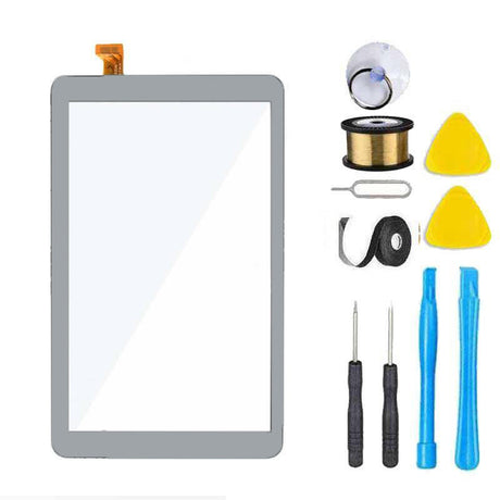 Samsung Galaxy Tab A 8.0 T387 Screen Replacement Glass Replacement Repair Kit 2018 SM-T387 White