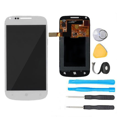 Samsung Focus 2 Screen Replacement LCD + Digitizer Assembly Premium Repair Kit  i667 - White