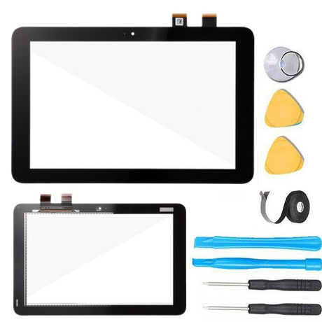 "ASUS Transformer Mini 10.1"" Glass Screen and Touch Digitizer Replacement Premium Repair Kit T102HA  - Black"