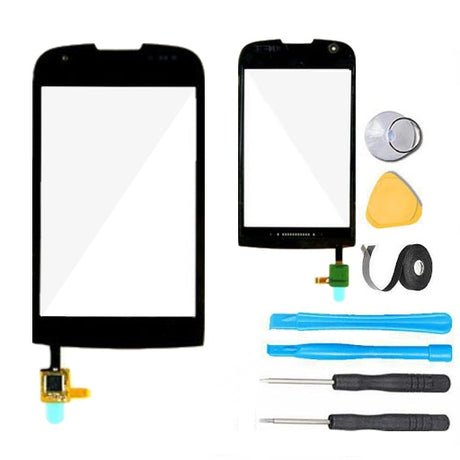 Samsung Transform Ultra Glass Screen + Touch Digitizer Replacement Premium Repair Kit M930- Black