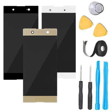 Sony Xperia XA1 Ultra Screen Replacement LCD Digitizer Premium Repair Kit G3221 G3212 G3223 G3226- Black
