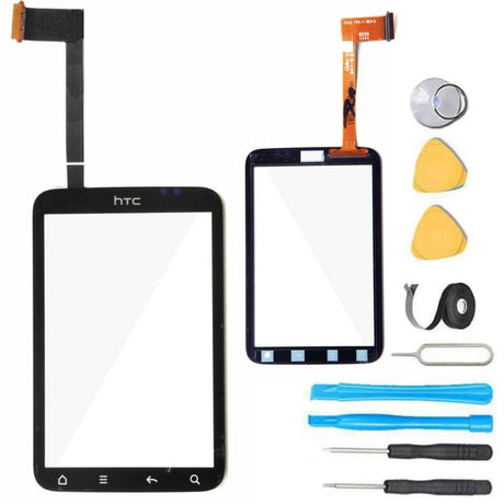 HTC Wildfire S Glass Screen Replacement parts plus tools