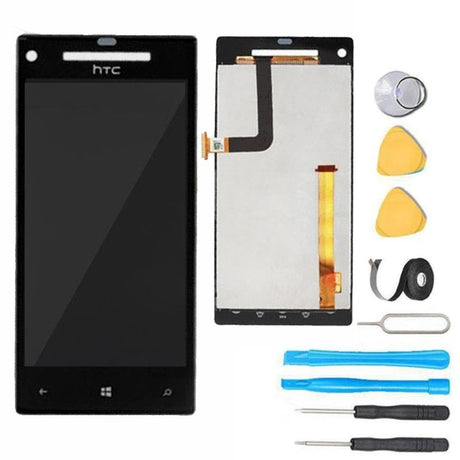 HTC Windows Phone 8X LCD Screen Replacement and Digitizer Premium Repair Kit - Black
