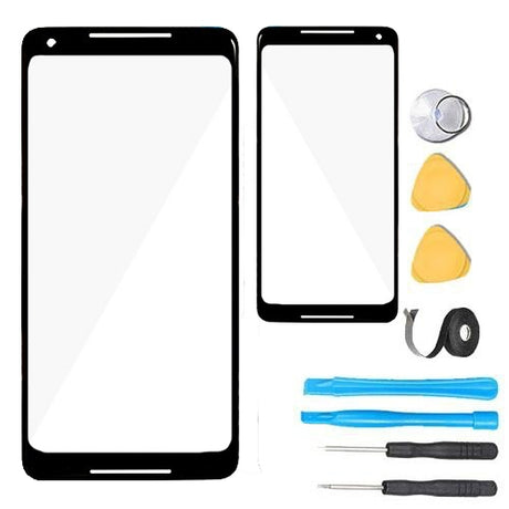 Google Pixel 2 XL Glass Screen Replacement parts plus tools