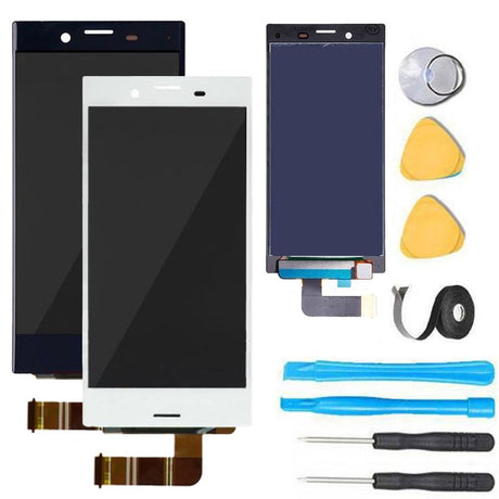 "Sony Xperia X Compact Screen Replacement LCD Digitizer Premium Repair Kit SO-02J F5321 4.6"" - Black or White"