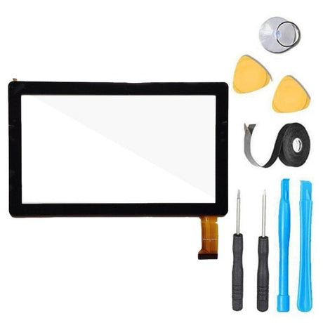 "Dragon Touch Y88X 7"" Android Tablet Glass Screen Replacement and Touch Screen Digitizer Premium Repair - Black"