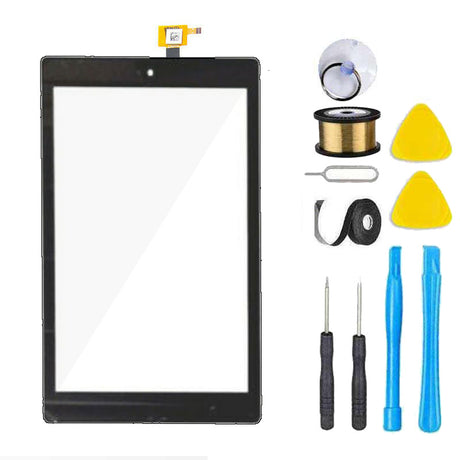 Amazon Kindle Fire HD 7 2019 9th Gen Screen Replacement Glass + Touch Digitizer Premium Repair Kit M8S26G Alexa