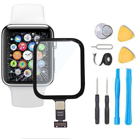 Apple Watch SERIES 4 Glass Screen Replacement + Touch Digitizer Premium Repair Kit 4th Gen - 40MM or 44MM