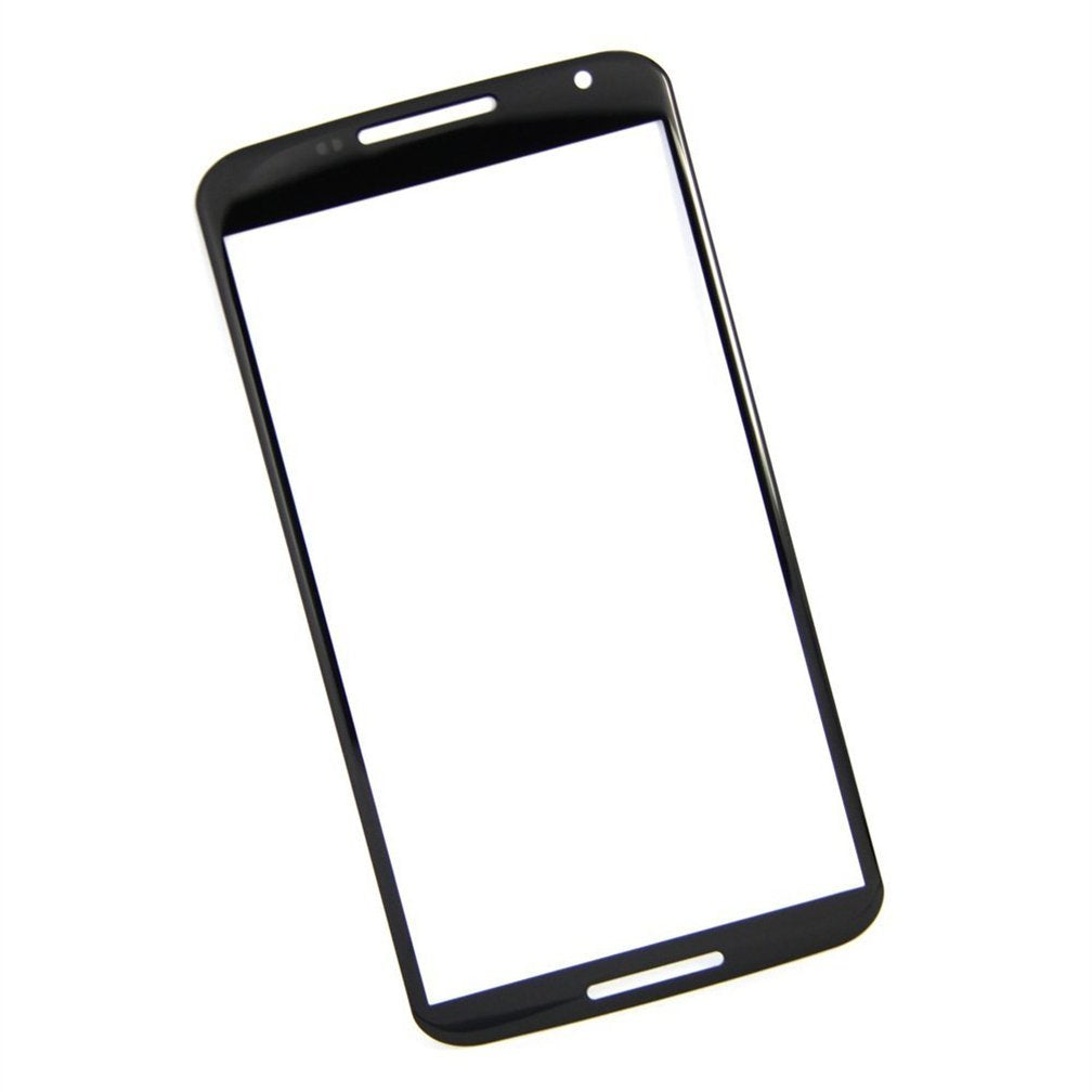 Motorola Google Nexus 6 Glass Screen Replacement Premium Repair Kit - Black
