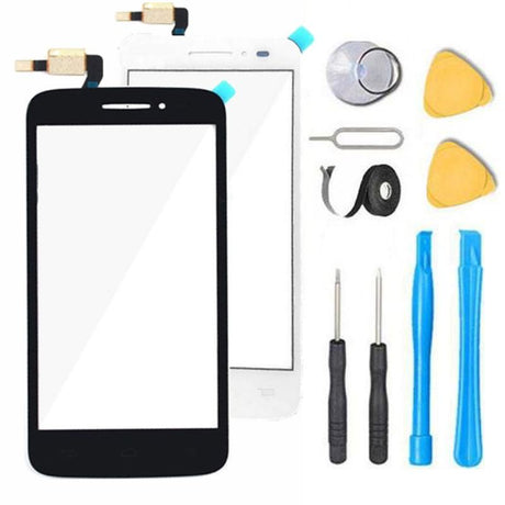 One Touch Pop Astro Glass Screen Replacement parts plus tools