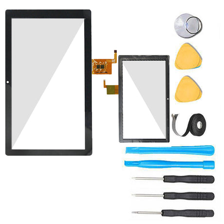"Mach Speed Trio Stealth 10.1"" Glass Screen + Touch Digitizer Replacement Premium Repair Kit MST10-21 - Black"