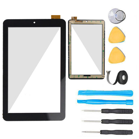 "Mach Speed Trio Stealth G4 7"" Glass Screen + Touch Digitizer Replacement Premium Repair Kit - Black"